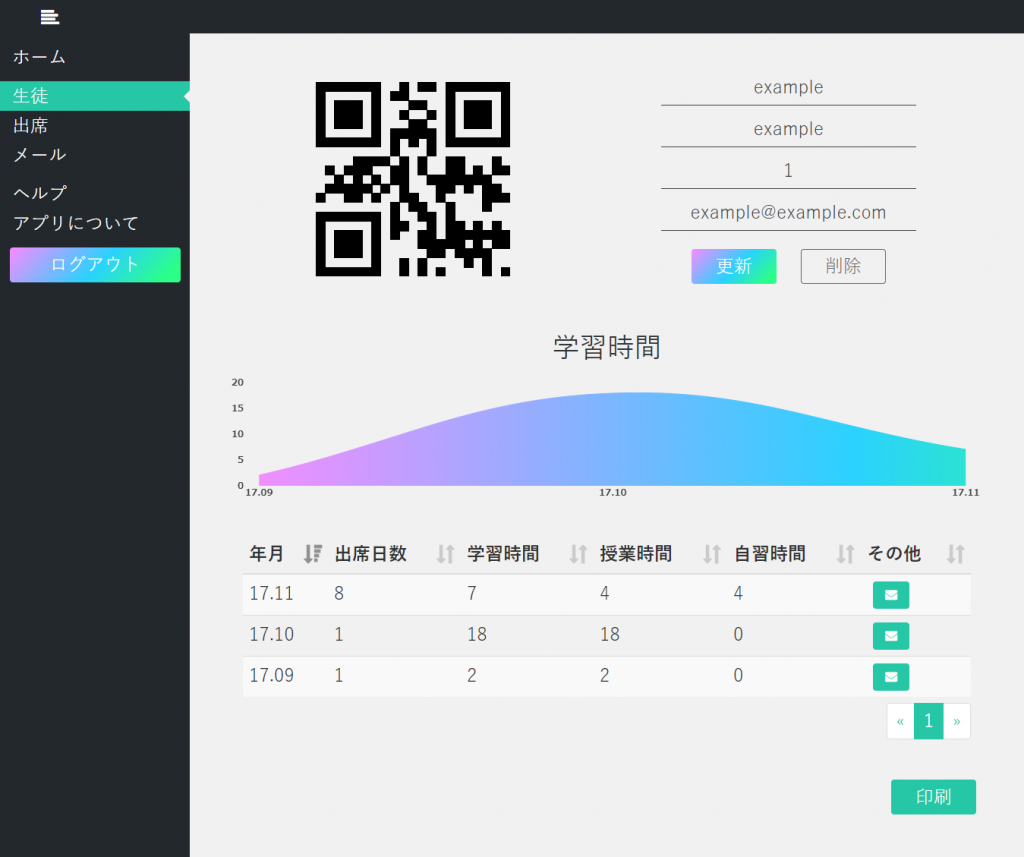 jsでQRコードを読み取り、簡易出席管理システムを作る │ Webty