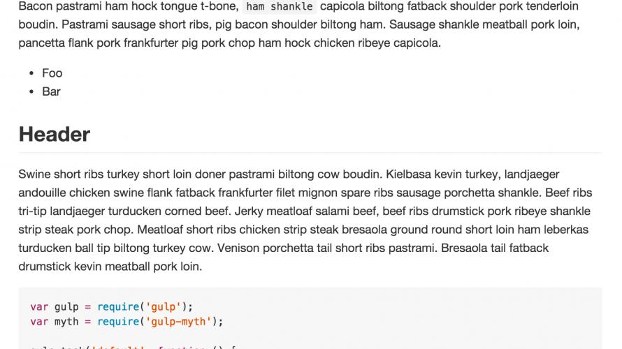 Github Markdown CSSを使用する方法
