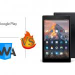 Fire HD に Google Play をインストールしてPWAをあつかう