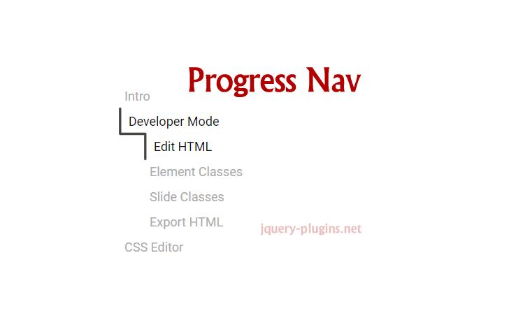 【Progress Nav】ついてくる目次をサクっと