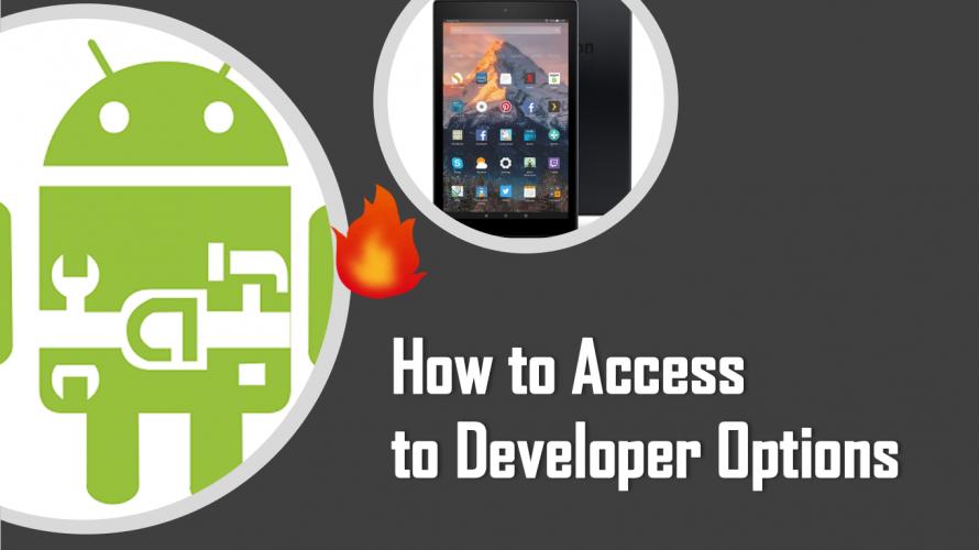 Fire HDで 開発者向けオプションやGoogle設定にアクセスする方法
